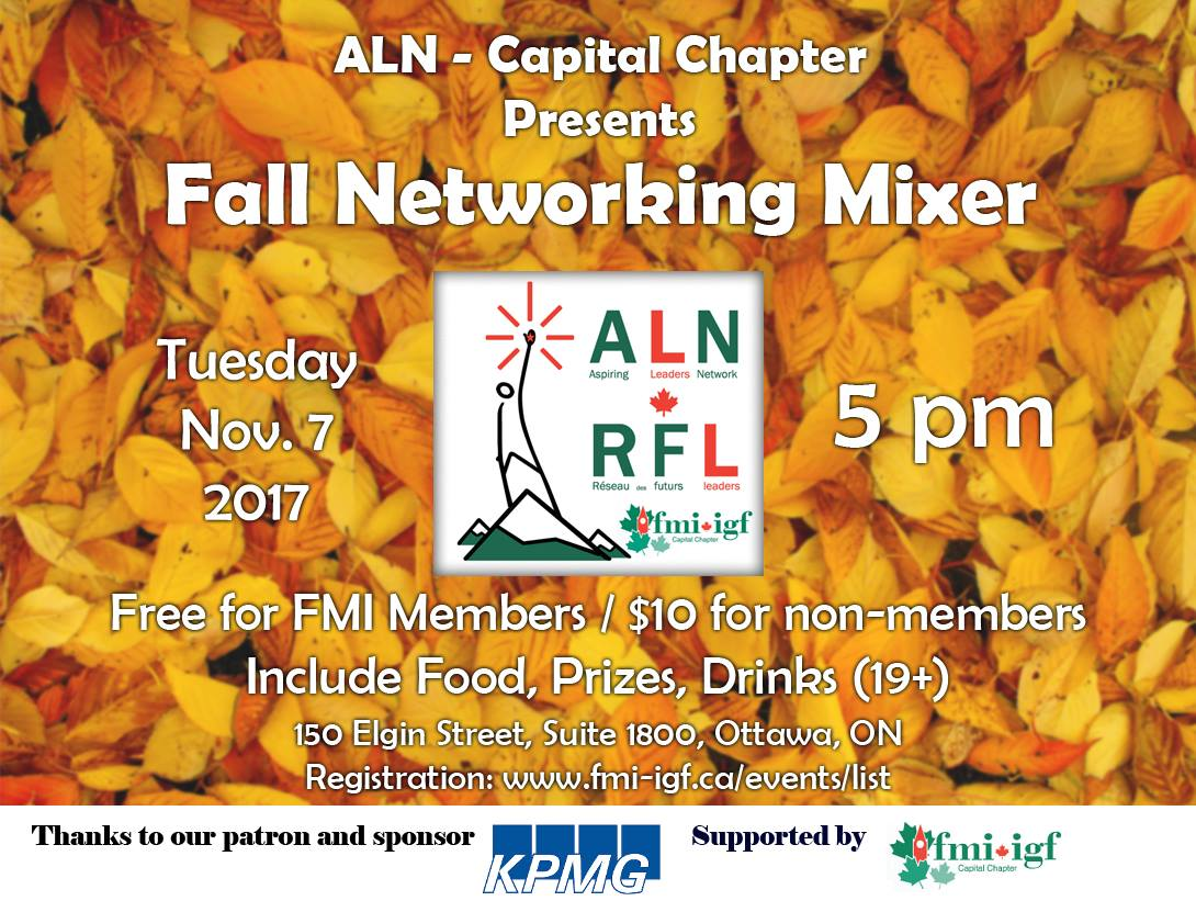 ALN Fall Mixer 2017