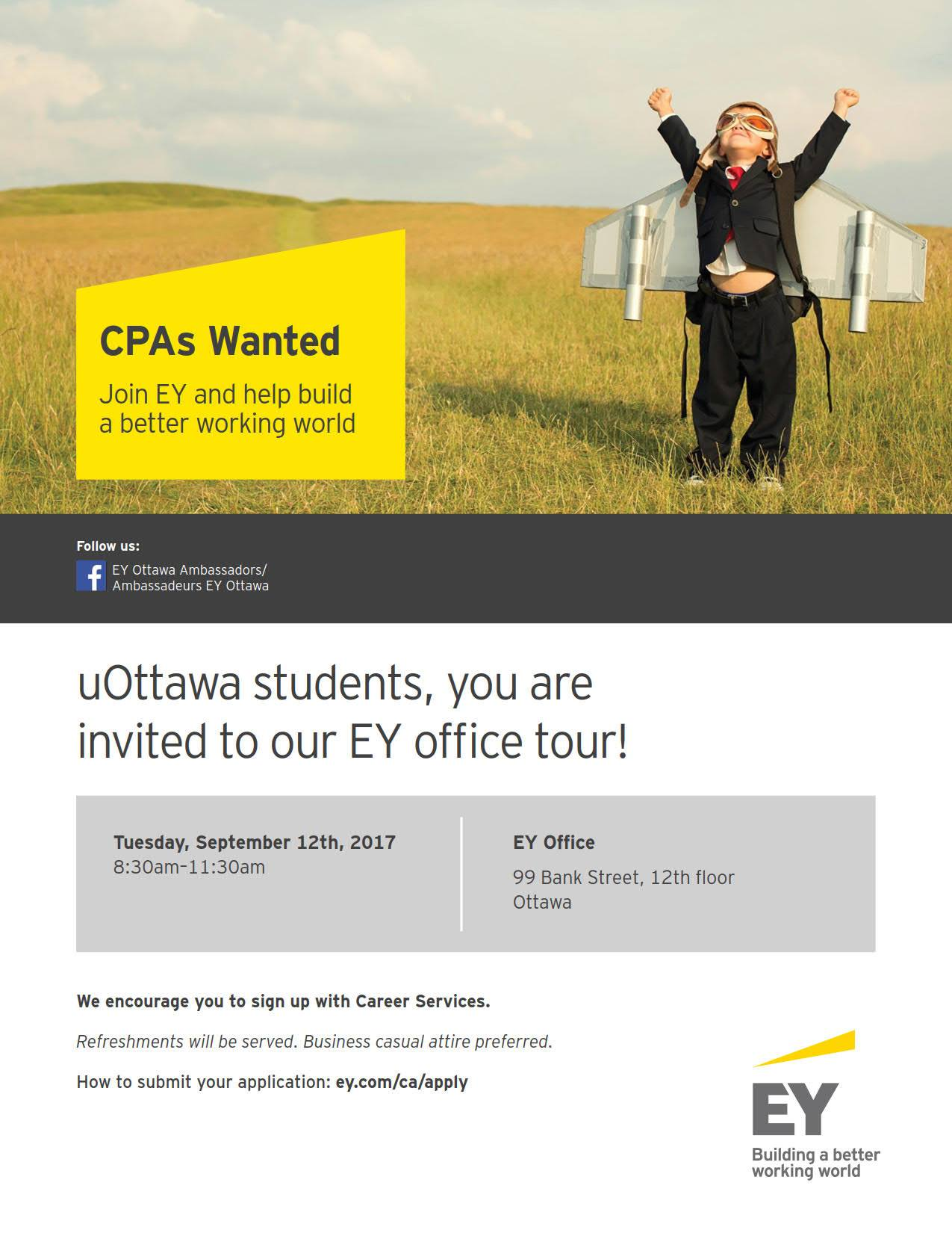 EY Office Tour Poster