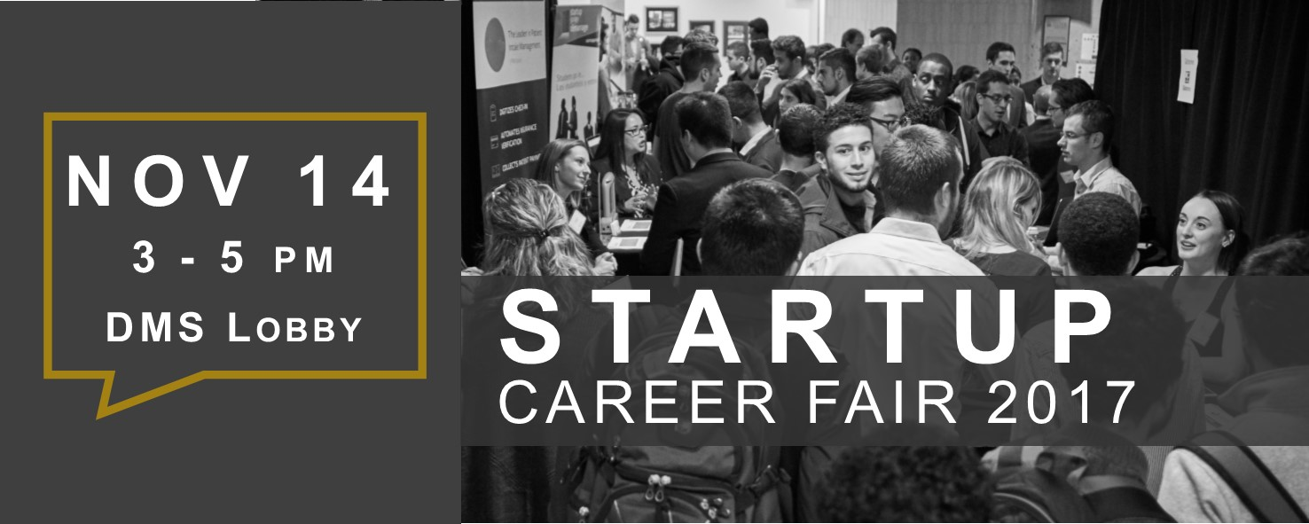 Startup Career Faire header image 2017