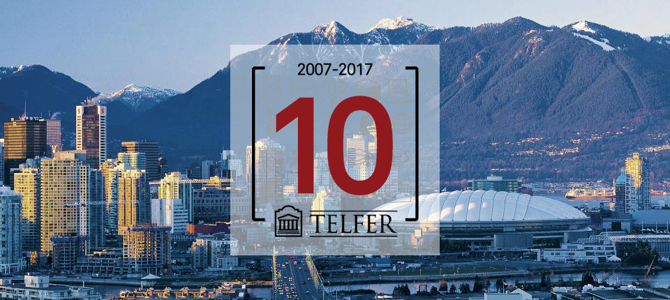 Telfer's 10th Anniversary Celebration with Ian Telfer in Vancouver!