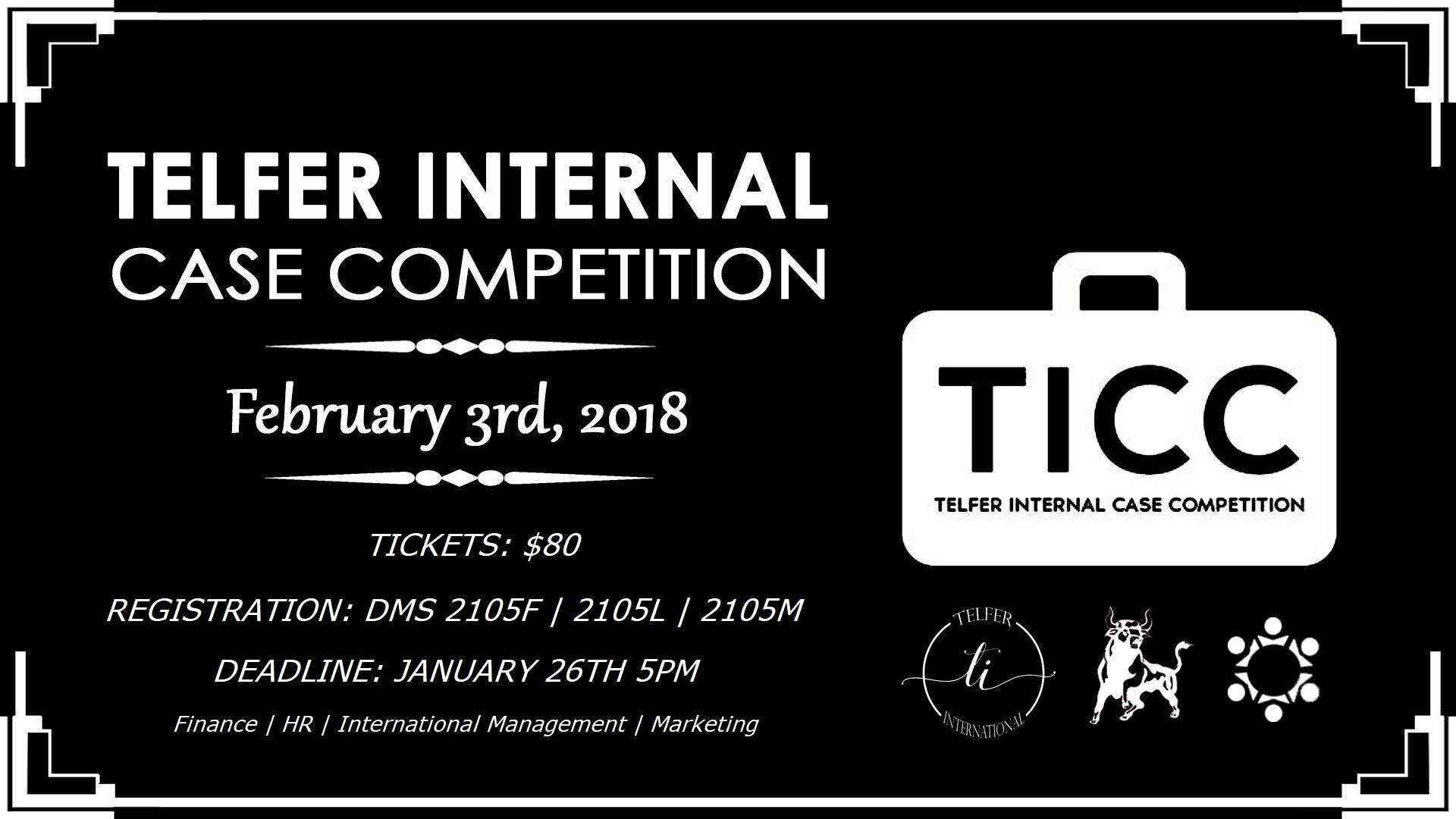 Telfer International Case Competition (TICC)