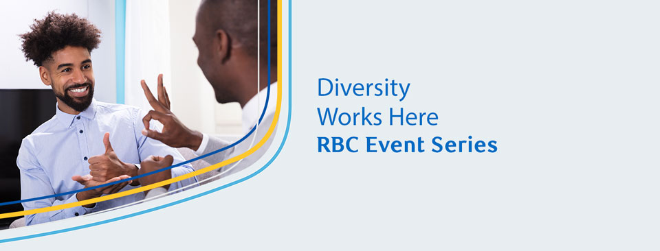 Diversity Works Here RBC Event Series Image