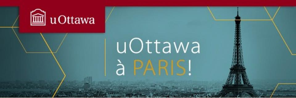 uOttawa sur la route - Paris