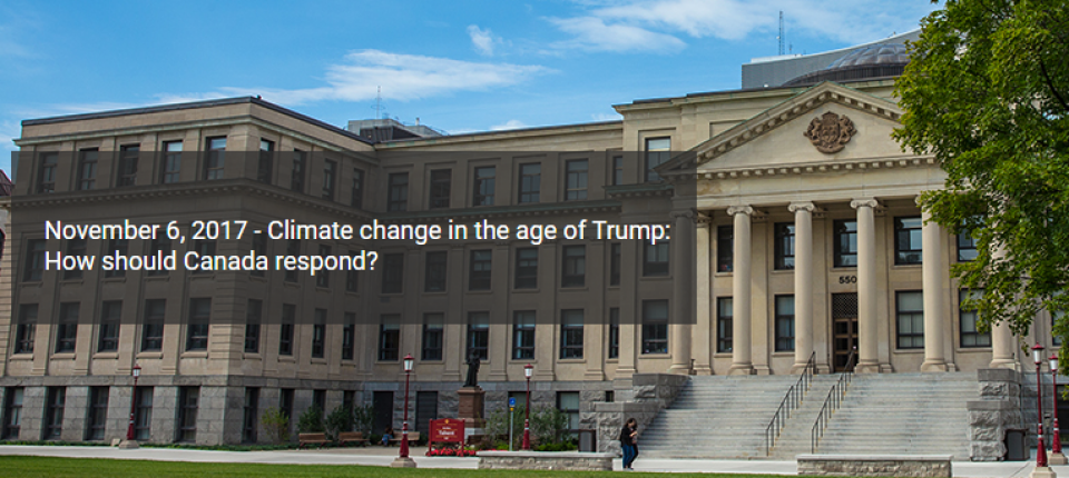 uOttawa Chancellor's Debate - Climate change in the age of Trump: How should Canada respond?