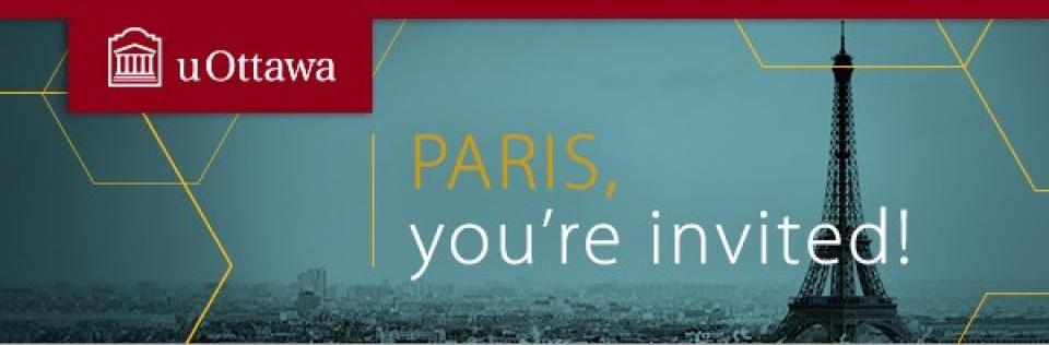 PARIS, you're invited!