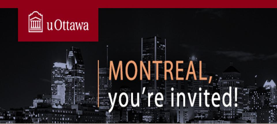 uOttawa Alumni Event: Sparkling wine tasting with Véronique Rivest atop Montreal
